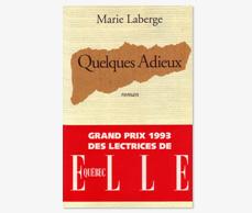 Prix - READER'S CHOICE AWARD<br/>ELLE-QUÉBEC<br/>